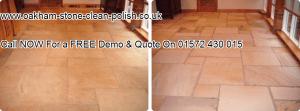 Oakham-Uppingham Flagstone Natural Tiled Floor Washing & Sealing Services.