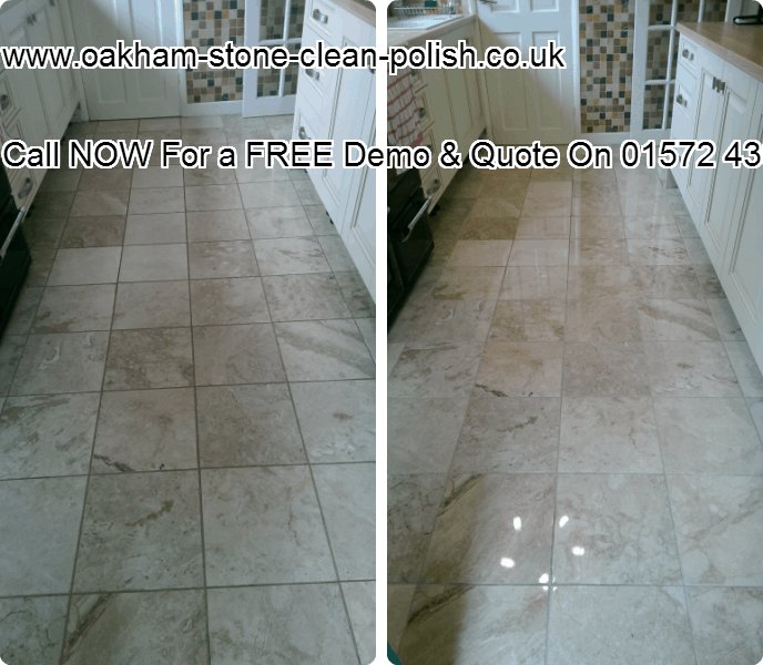Oakham-Uppingham Marble Natural Tiled Floor Washing & Polishing Services.