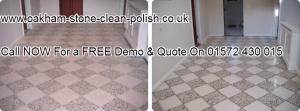Oakham-Uppingham Terrazzo Natural Hard Floor Washing & Sealing Services. 01572 430 015