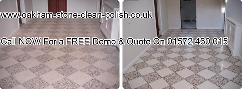 Oakham-Uppingham Terrazzo Natural Hard Floor Washing & Sealing Services.